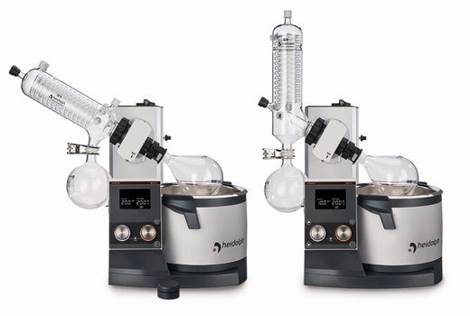 Pyöröhaihdutin, Hei-VAP Core rotary evaporator, models with manual lifting