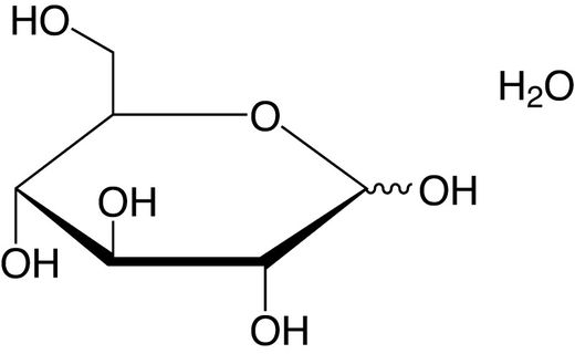 Carbohydrates, D(+)-Glucose monohydrate