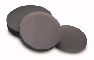 Activated carbon filter papers
