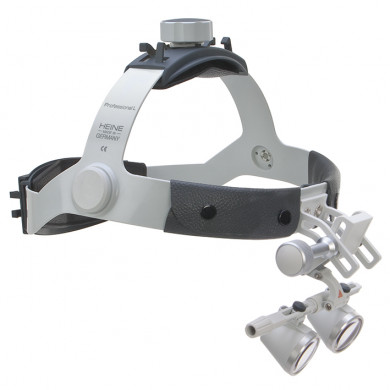 Binocular loupes set C HR 2.5 x 340 mm with i-View on Professional